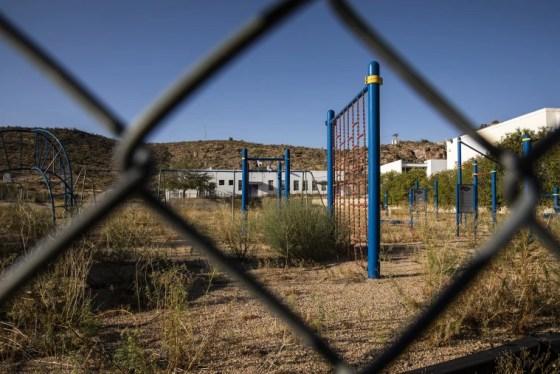 Image: The playground at Palo Christi Elementary School
