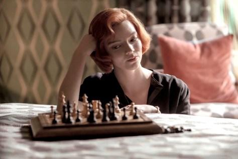 Anya Taylor-Joy in The Queen's Gambit recensie op Netflix België
