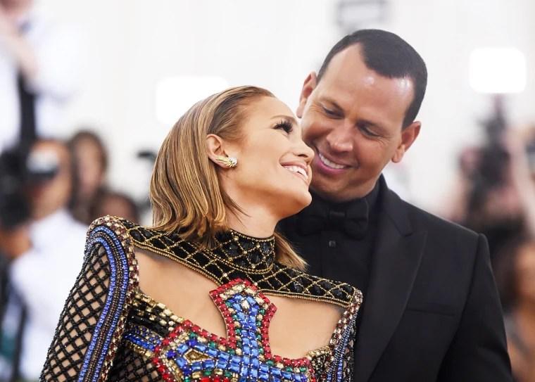 Jennifer Lopez and Alex Rodriguez in 2018.