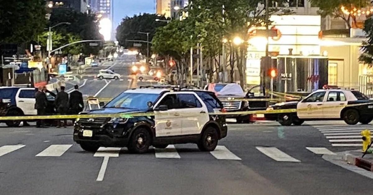 Suspect dead after shootings in LA leave 2 dead, 1 injured