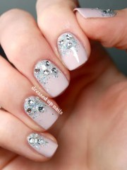 wedding nails bridal nail design