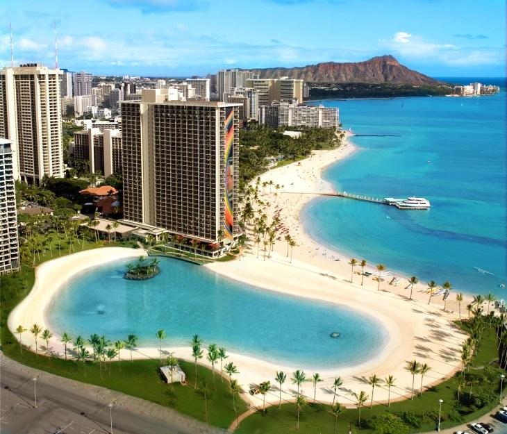 Duke Kahanamoku Beach Waikiki, Oahu, Hawaii