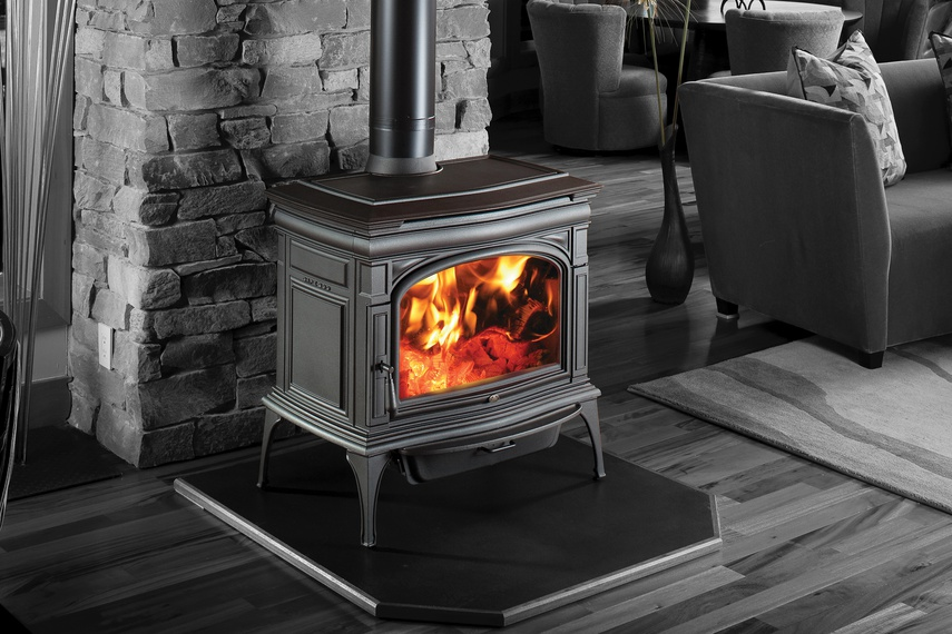 Woodburning freestanding heaters and fireplace inserts by