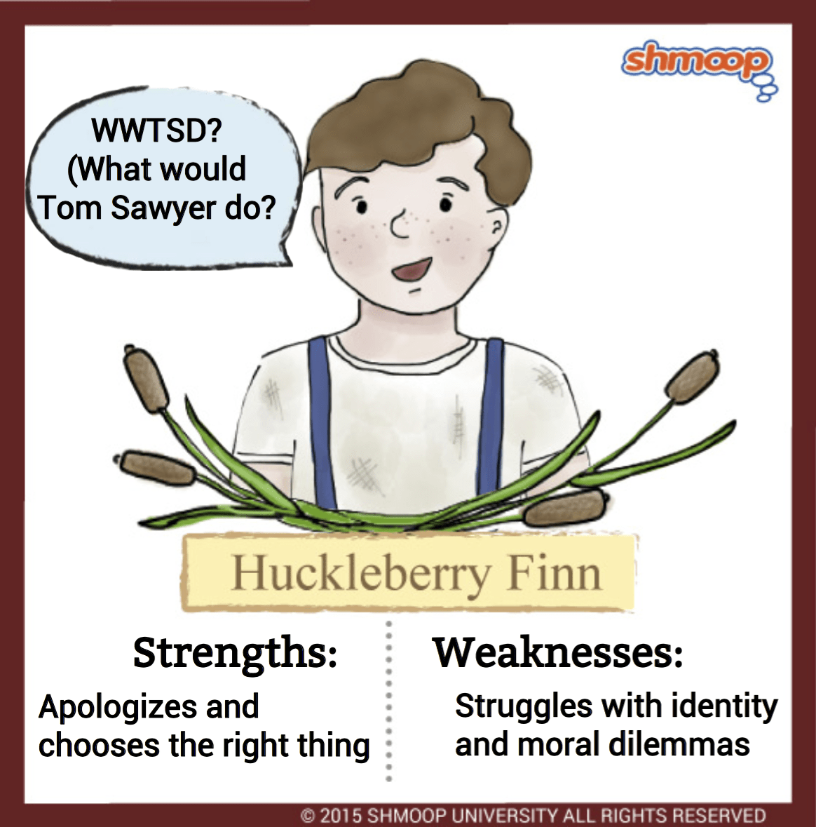 Huckleberry Finn In Adventures Of Huckleberry Finn