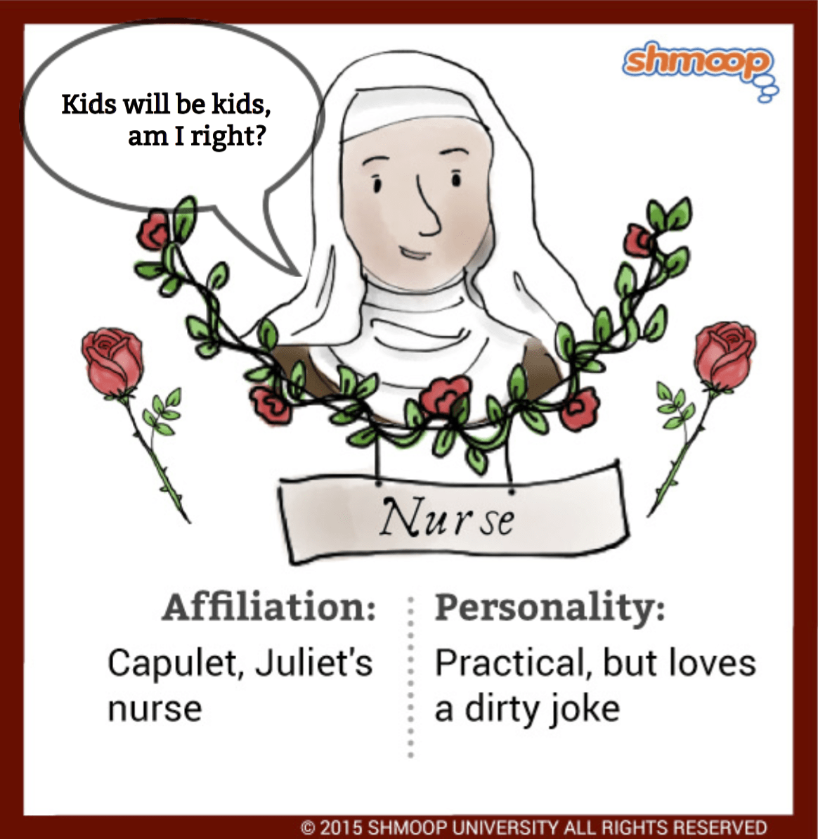 The Nurse In Romeo And Juliet Chart