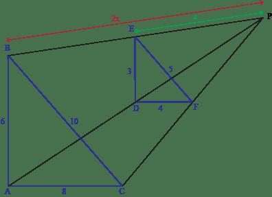 Similar Triangles Dilation