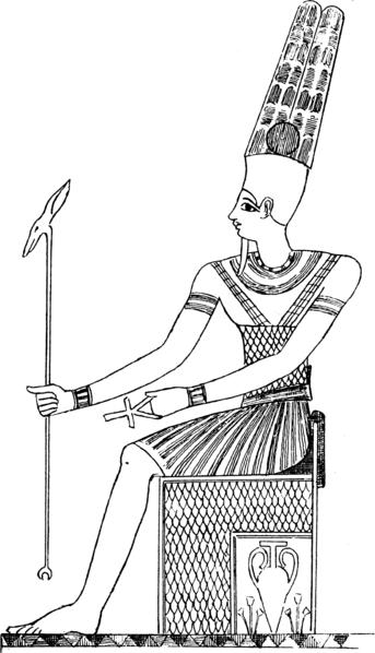 Amun Photo: Amun-Min-Kamutef