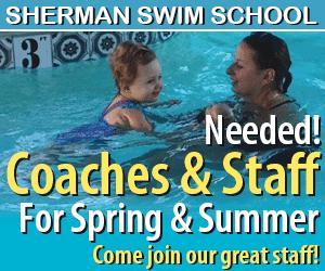 Sherman Swim Center. Swim classes, diving and summer jobs