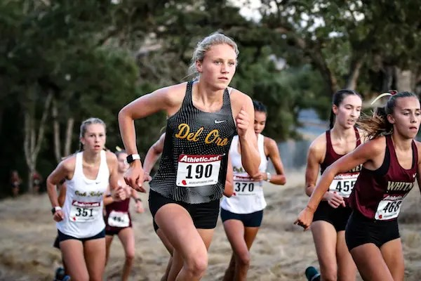 Riley Chamberlain, Cross Country