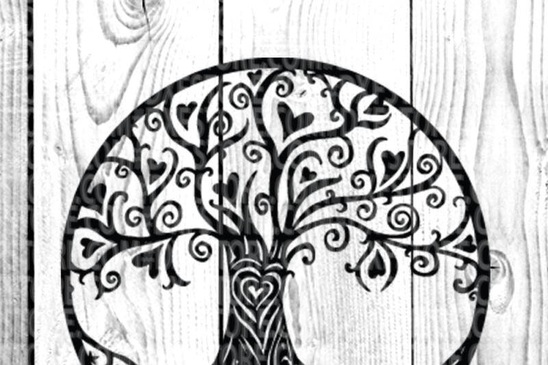 Life of tree,Family tree,Tattoo,vector,clip art By dxf