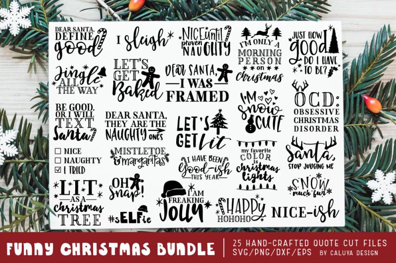free funny christmas phrases