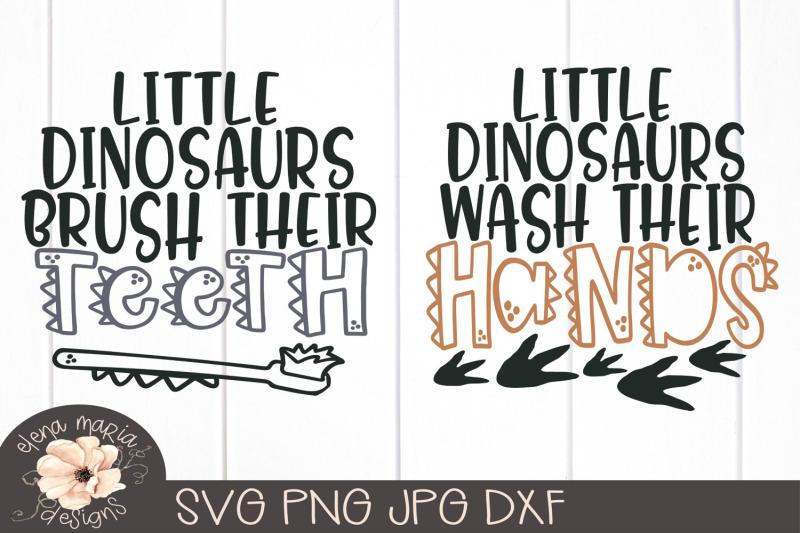 Download Dinosaur Svg Bundle By Elena Maria Designs   TheHungryJPEG.com