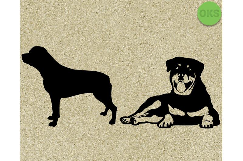 Download rottweiler svg, svg files, vector, clipart, cricut ...