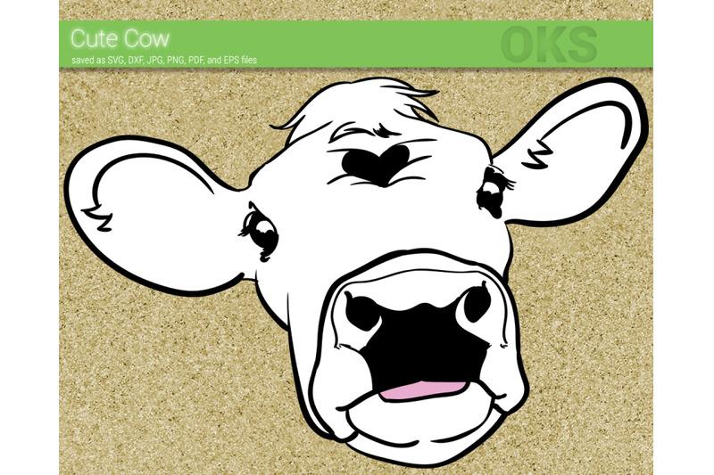 Download Cricut Free Cow Head Svg