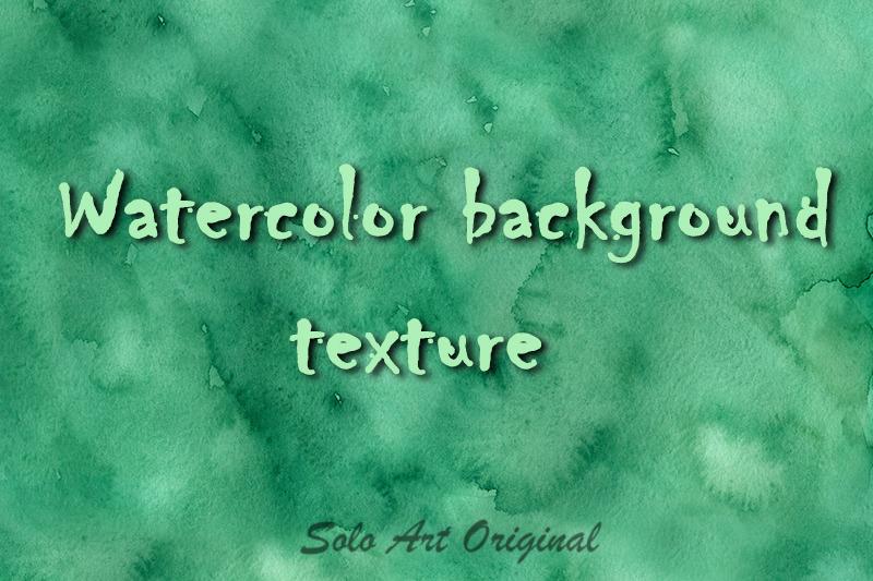 emerald watercolor texture background