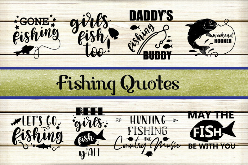Download Fishing Svg Decals