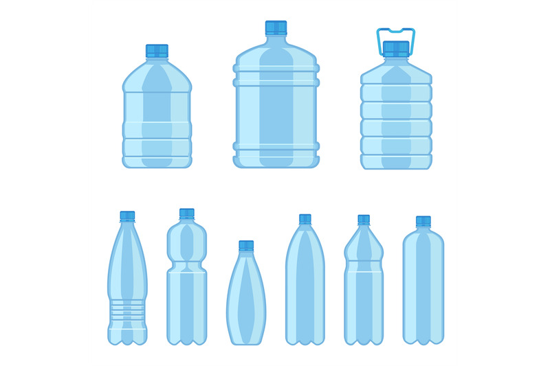 Download Textured Plastic Bottle With Blue Drink Mockup Yellowimages