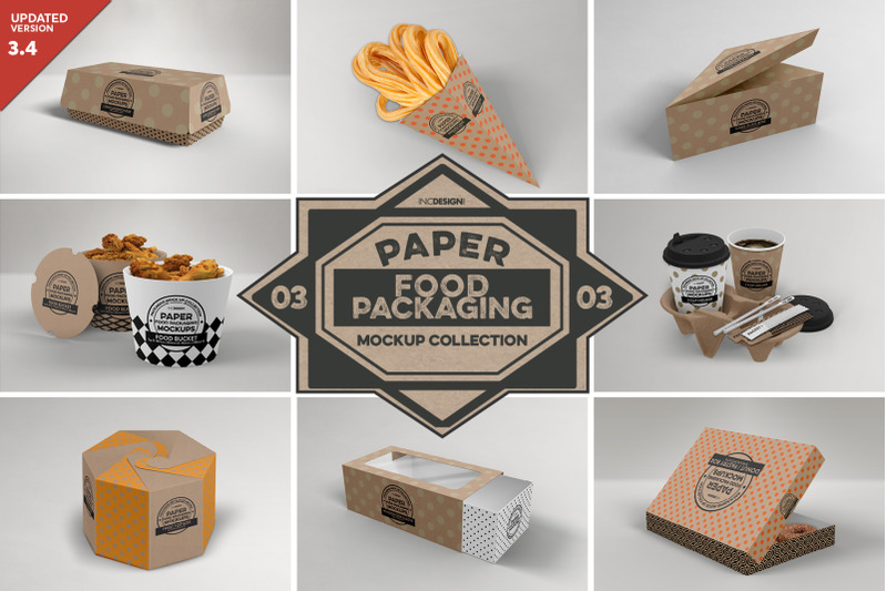 Download Baked Goods Box Free Psd Mockup Yellowimages
