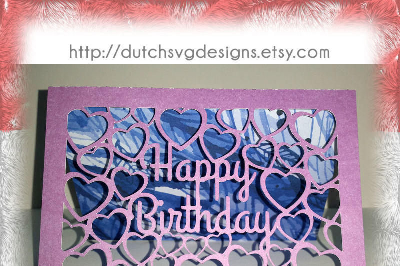 Download Free Birthday card cutting file Happy Birthday with cutout ...