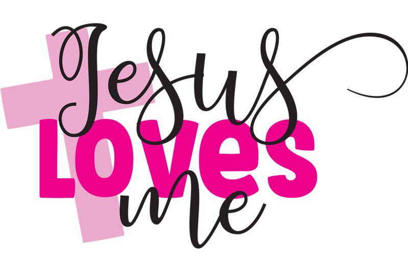 Download Jesus Loves Me SVG By Cinnamon&Lime | TheHungryJPEG.com