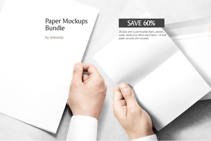 Download A4 Document Mockup Psd Yellowimages