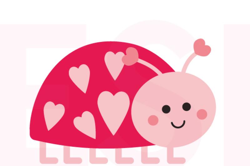 Download Free Love Bug Design - SVG, DXF, EPS Crafter File ...