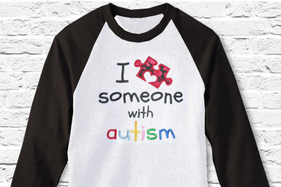 Download Download I Love Someone with Autism Puzzle Piece ...