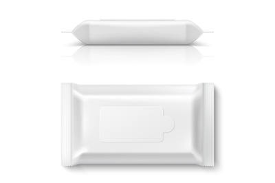 Download Glossy Wet Wipes Pack Plastic Cap Mockup Top View Yellowimages