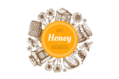 Download Glass Jar Honey Mockup Yellowimages