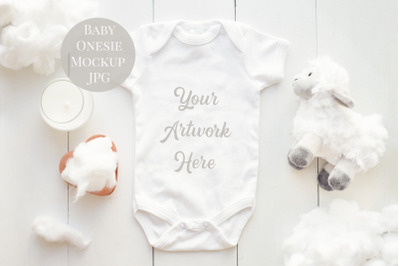 Download Baby Onesie Mockup Psd Free Yellowimages