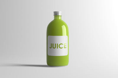 Download Clear Glass Plum Juice Bottle Mockup Yellowimages
