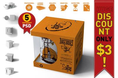 Download Software Box Psd Mockup Yellowimages