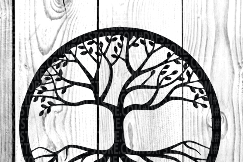 Tree,Life of tree,Family tree,SVG DXF EPS PNG for Cricut