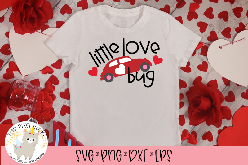 Download Little Love Bug SVG Cut File By The Pixel Llama ...