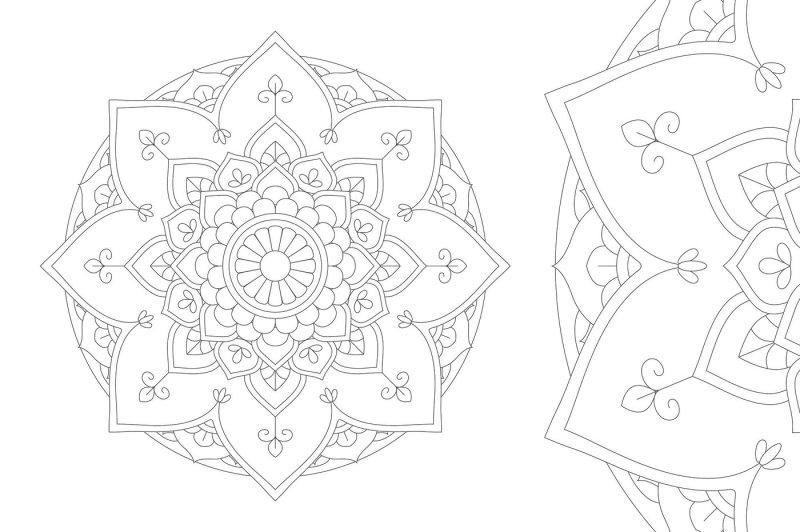 Mandala Creator Pro // Coloringbook Mandala Toolkit By