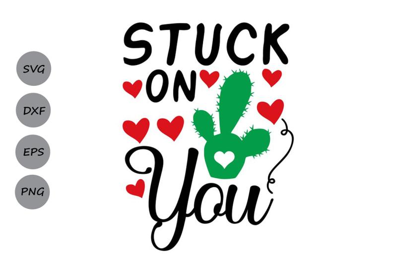 Download Stuck on you svg, valentine's day svg, love svg, heart svg ...