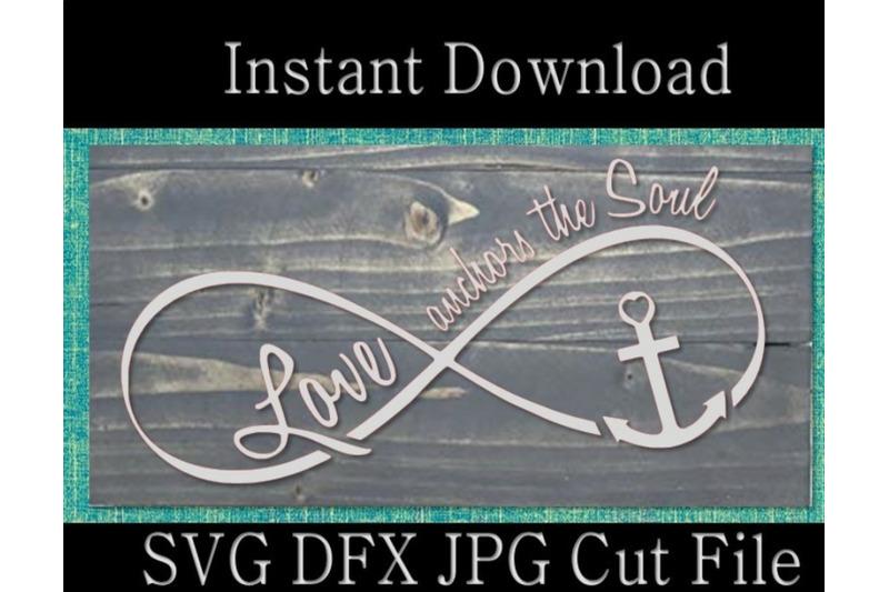 Download scripture svg, bible verse svg, love anchors the soul ...