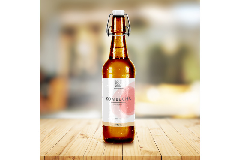 Download Empty Clear Glass Pills Bottle Mockup Yellowimages