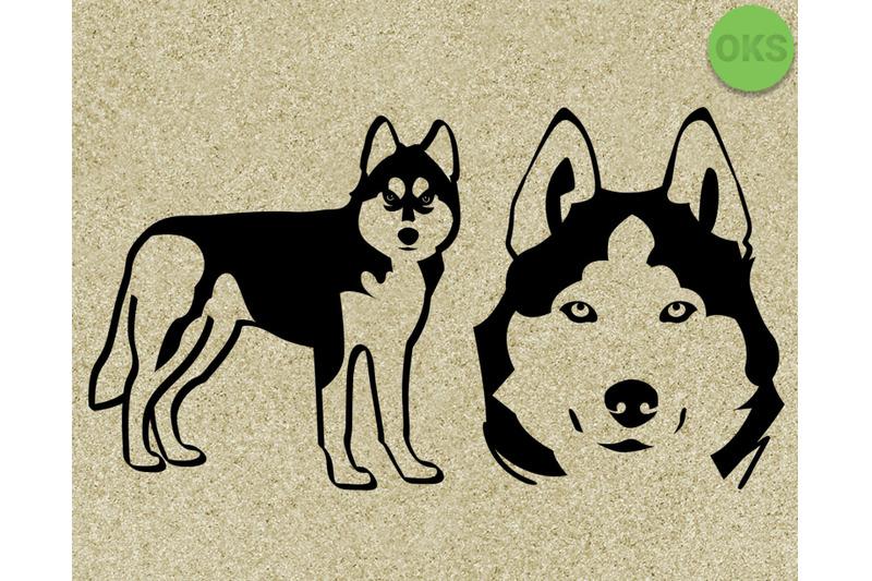 Download husky svg, dog svg files, vector, clipart, cricut ...