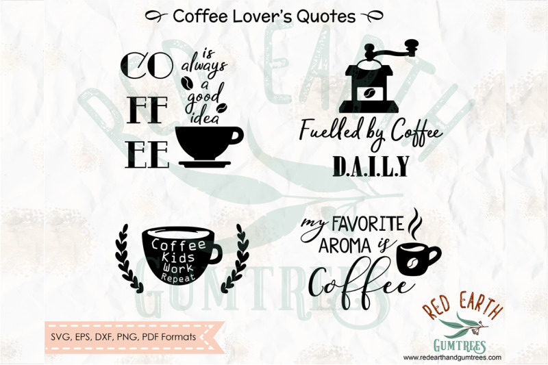 Download Coffee lovers quotes and phrases, coffee decal SVG, PNG ...