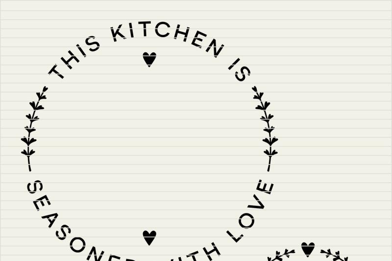 Download Cricut Free Kitchen Svg