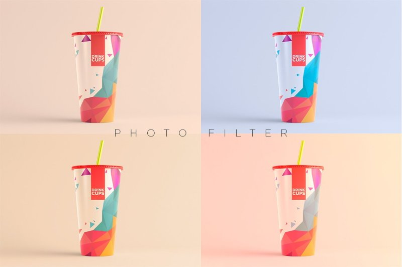 Download Plastic Smoothie Bottle Mockup Yellowimages