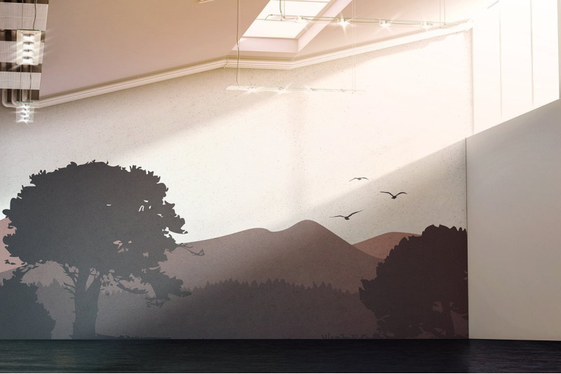 Gallery Wall Mockup By rebrandy | TheHungryJPEG.com