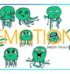 jellyfish clipart sea clipart nautical clipart cartoon sticker clipart digital jellyfish art funny digital jellyfish sea creature commercial [ 1160 x 772 Pixel ]