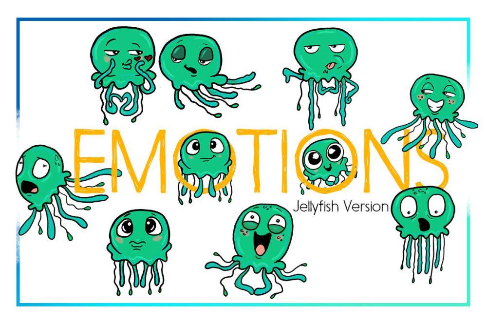 medium resolution of jellyfish clipart sea clipart nautical clipart cartoon sticker clipart digital jellyfish art funny digital jellyfish sea creature commercial