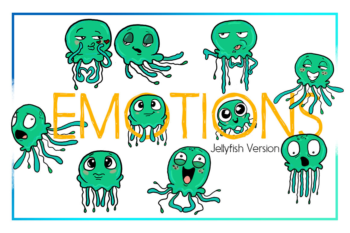 hight resolution of jellyfish clipart sea clipart nautical clipart cartoon sticker clipart digital jellyfish art funny digital jellyfish sea creature commercial