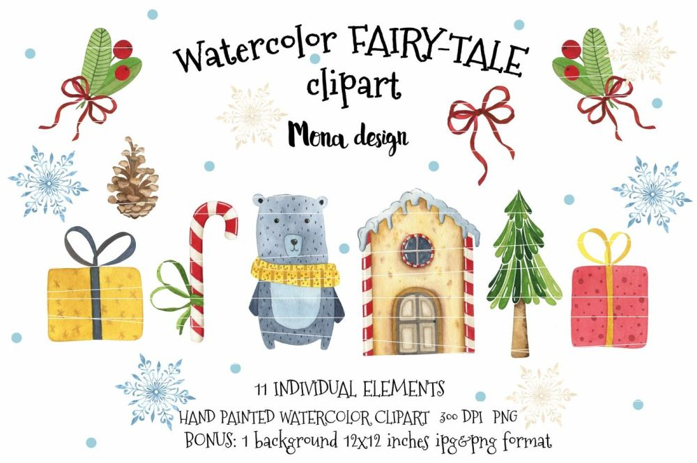 medium resolution of watercolor fairy tale clipart