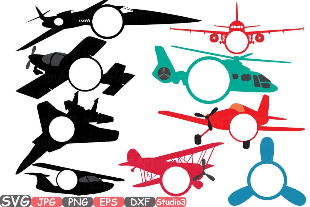 medium resolution of  patriotic planes silhouette cutting files airplane monogram clipart
