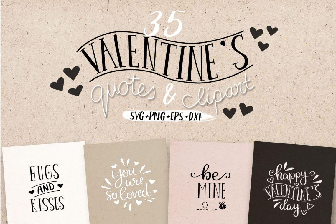 Download Valentine's Love Quotes SVG Bundle By MileeKae ...
