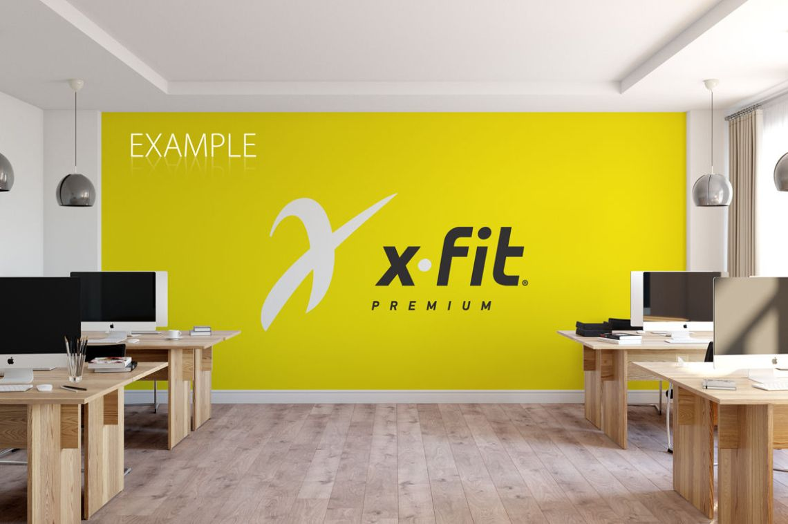 Download Office Wall Mockup Psd Free Yellowimages